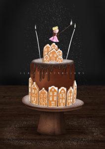 Chocolate Cake - NIET OP VOORRAAD